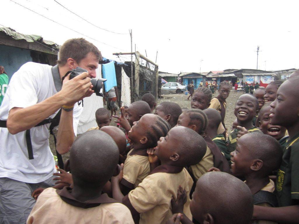 Thomas Lhomme, photographer, filmmaker Liberia